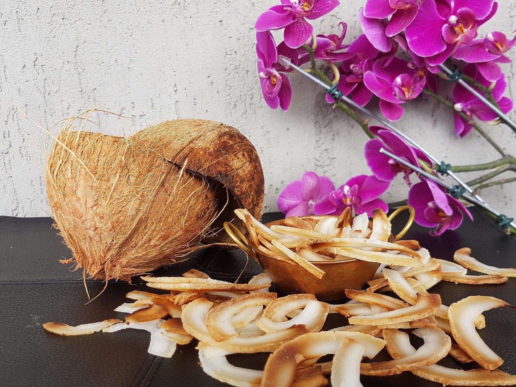 Chips de coco: como fazer?